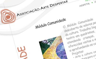 Arte Despertar - Website