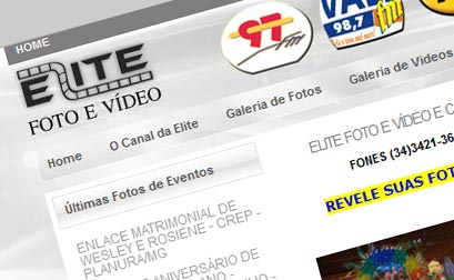 Canal da Elite - Website