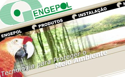 Engepol Geossintéticos - Website