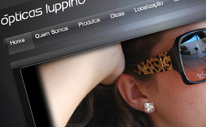Opticas Luppino - Website