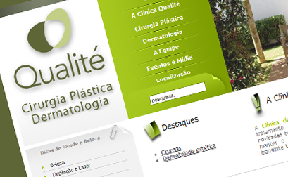 Clinica Qualité - Website