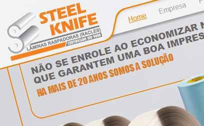 Steel Knife - Website